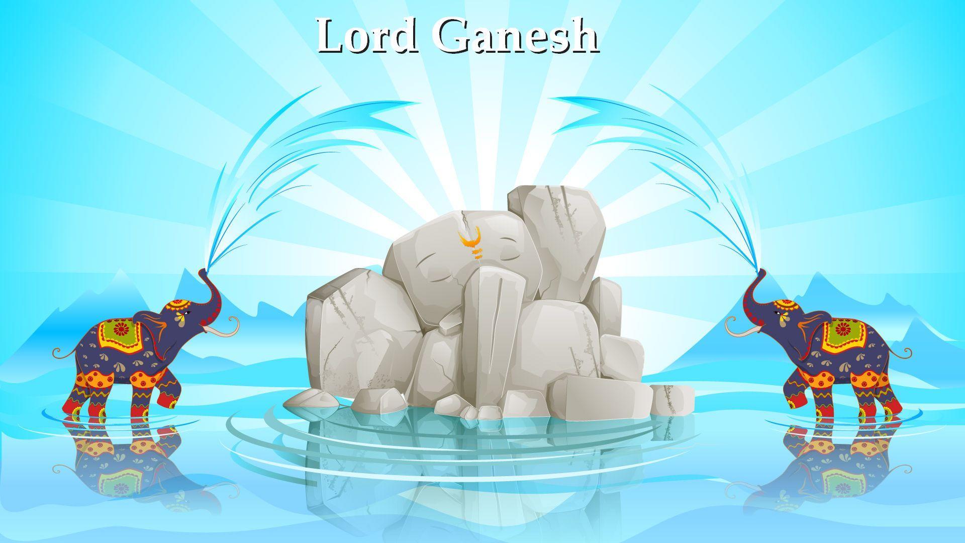 3d God Ganesh Wallpaper