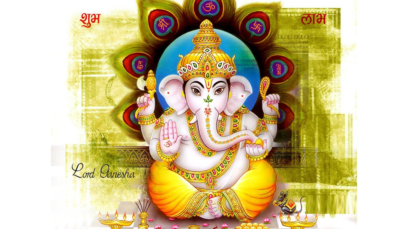 Lord Ganesha | God HD Wallpapers | 1366 x 768 jpeg 200kB