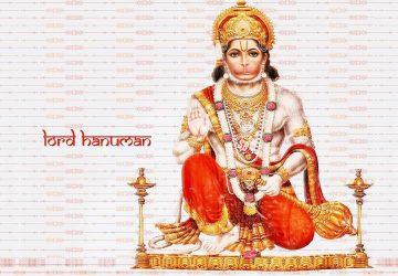 Hindu God Hanuman Ji