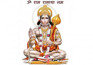 Lord Hanuman Desktop Wallpaper