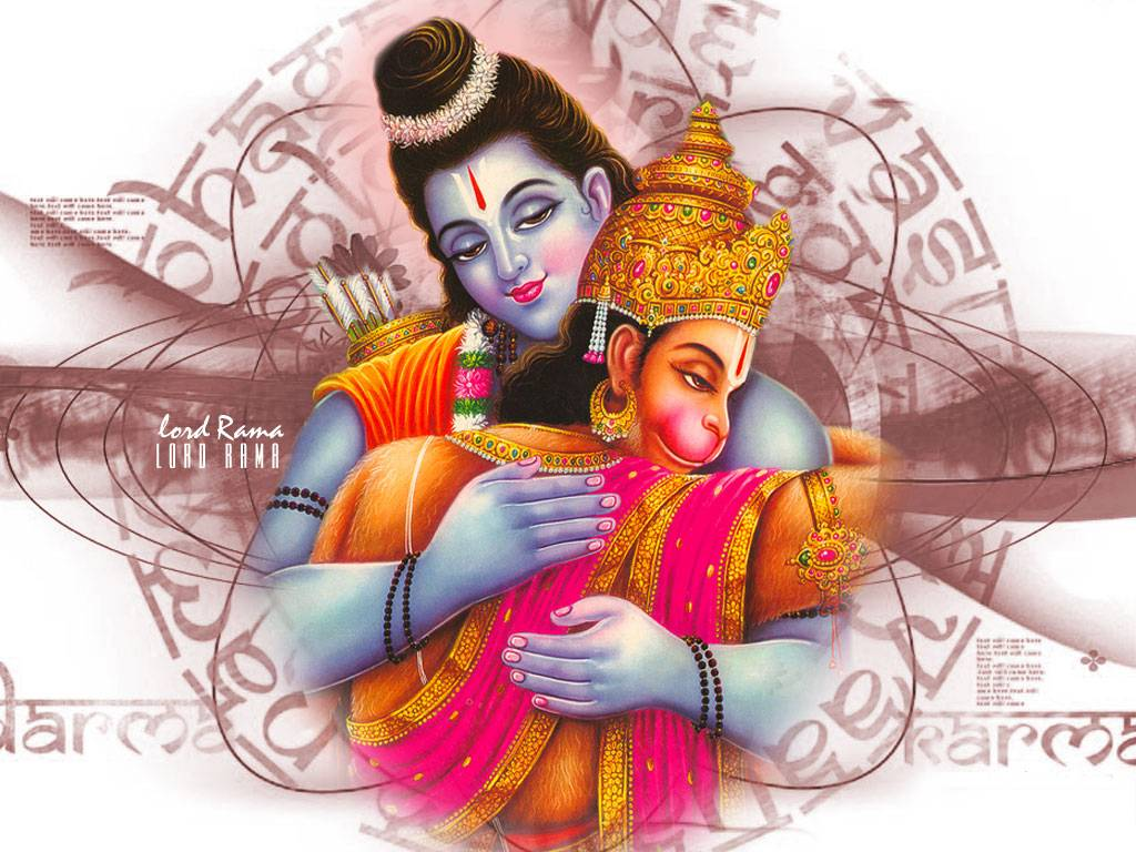 Ram Hanuman Milan Hd Images