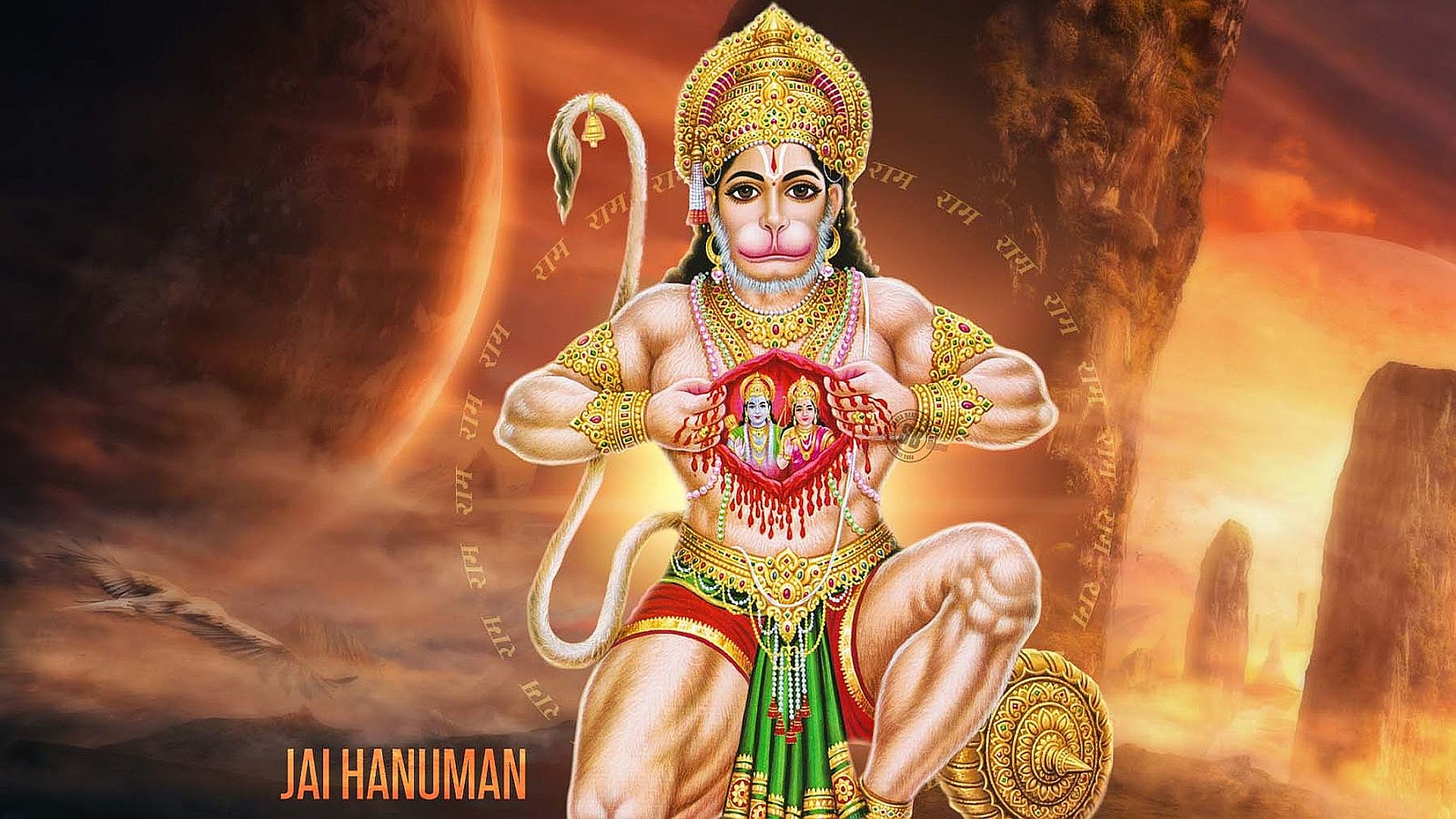 Bajrangbali Wallpaper Full Size Hindu Gods And Goddesses