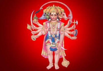 Panchmukhi Hanuman Full Size