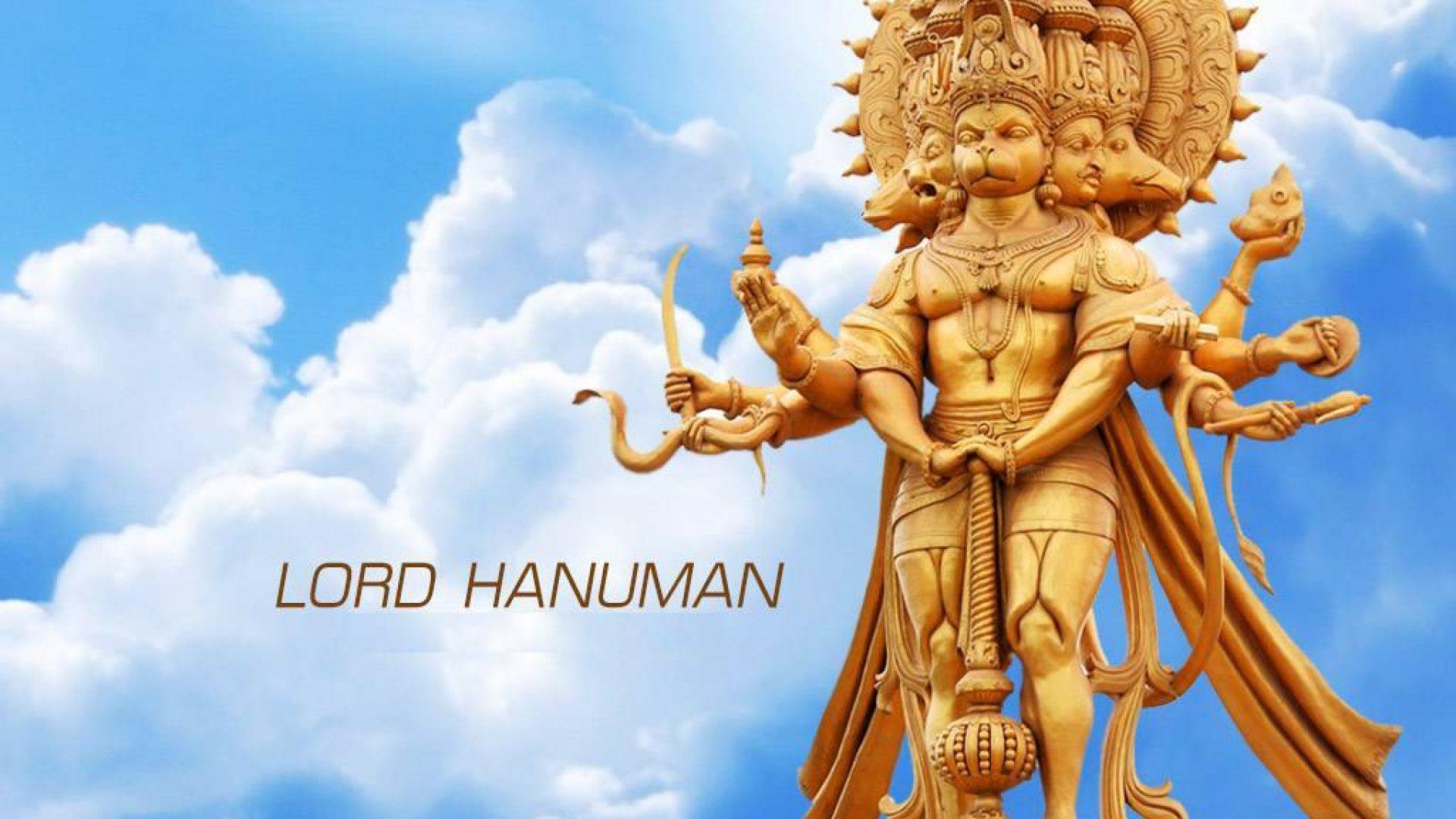 Panchmukhi Panchmukhi Hanuman Wallpaper Hindu Gods And Goddesses
