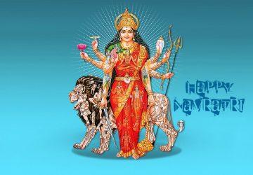 3D Navratri Images Wallpaper