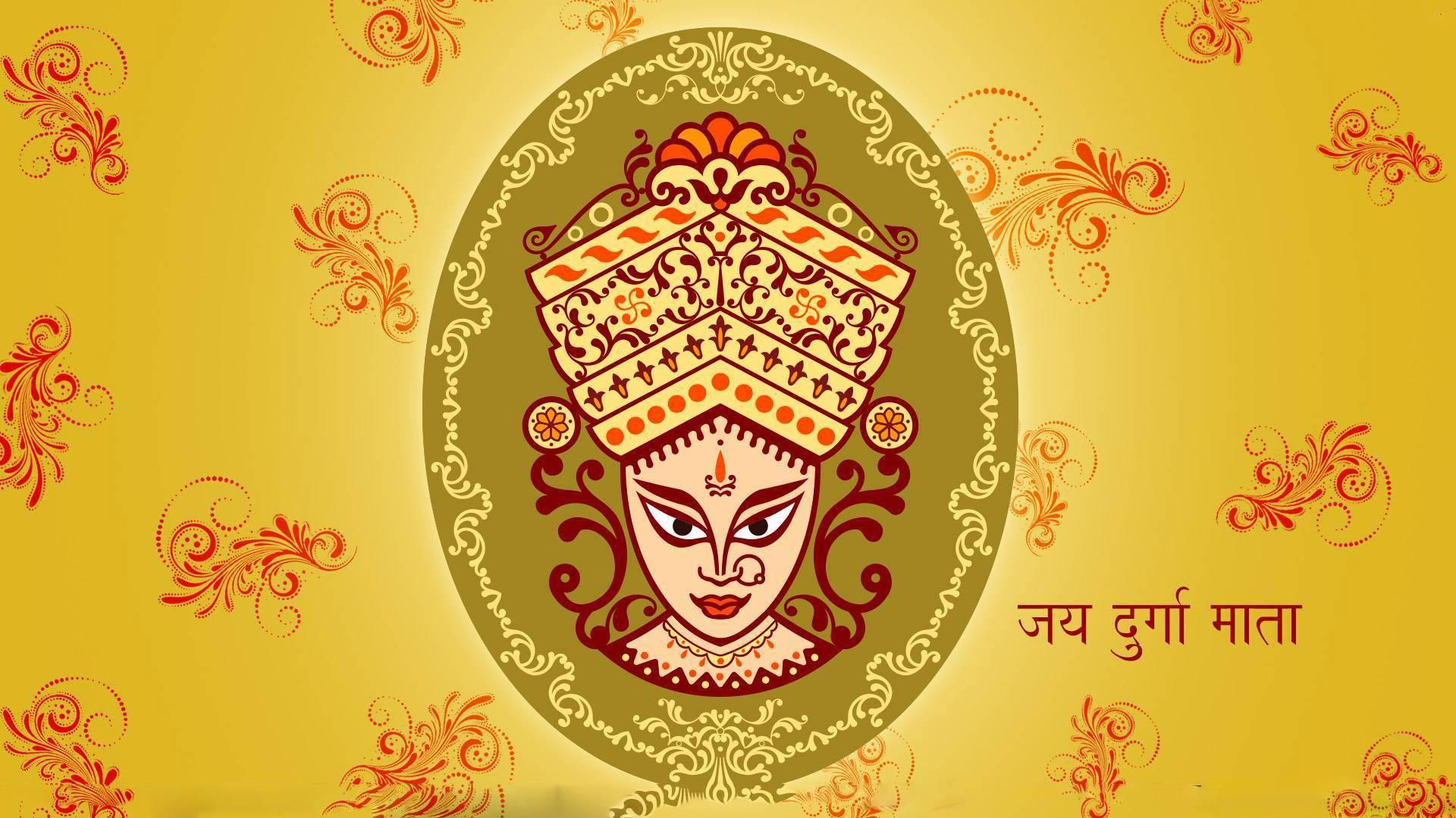 3d Hd Maa Durga Wallpaper