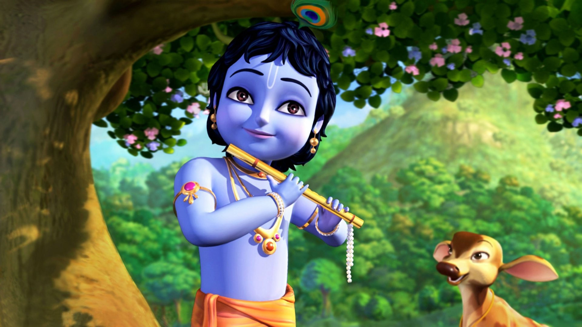 3d Hd Wallpapers Krishna