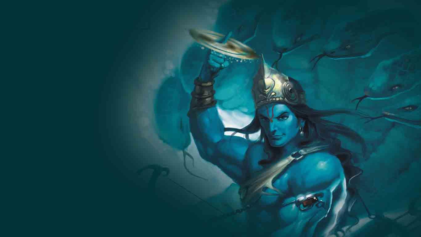 3d Wallpaper Lord Vishnu