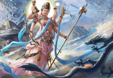 4d Wallpapers Lord Vishnu