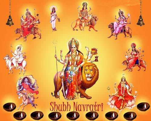 Happy Navratri Maa Aarti Darshan