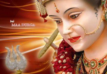 Jay Maa Durga Free Wallpaper Of Happy Navratri