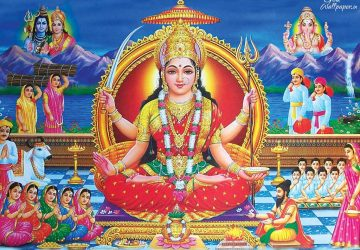 Maa Santoshi Wallpaper