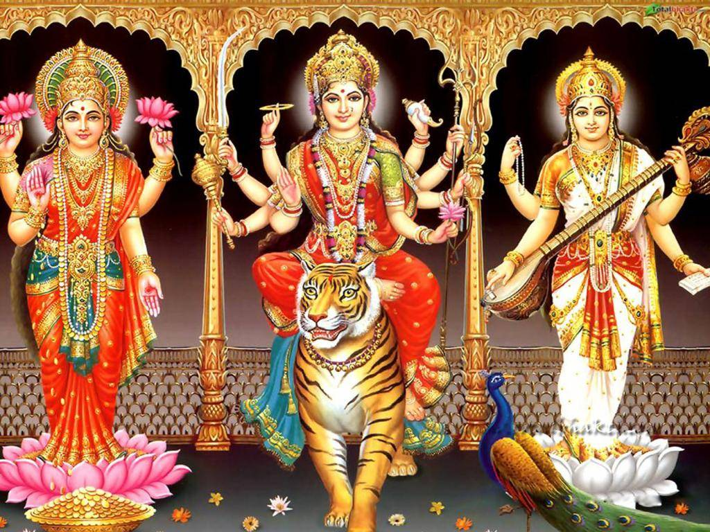 Ambe Maa Durga Hindu Lakshmi Mata