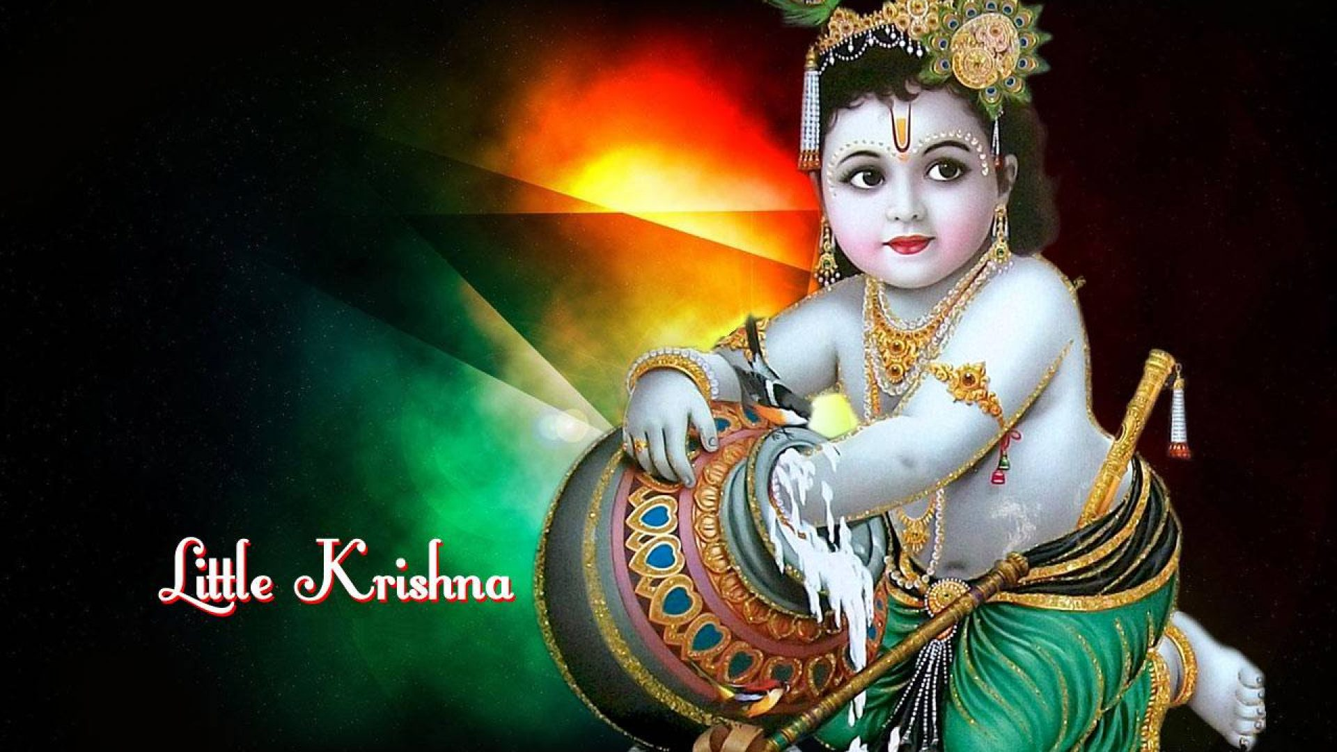 baby krishna images free download