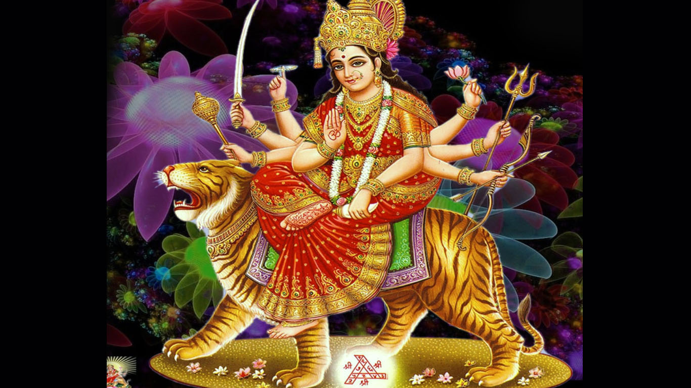 Beautiful Images Of Maa Durga Hd
