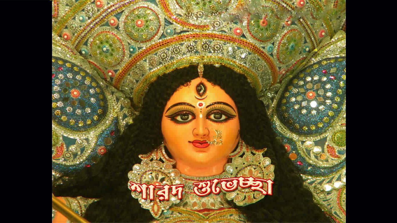 Beautiful Wallpaper Of Maa Durga Goddess Maa Durga