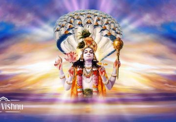 Bhagwan Vishnu Image For Laptop