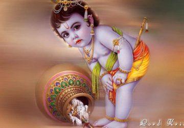 Cute Baby Krishna Images