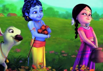 Cute Bal Radhey Krishna 3d Hd Desktop Wallpaper