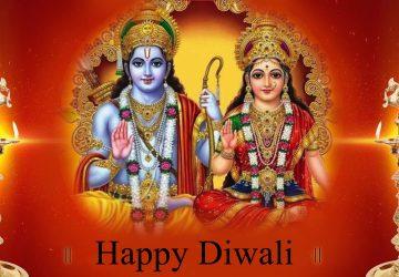 Diwali Laxmi Vishnu Hd Wallpaper