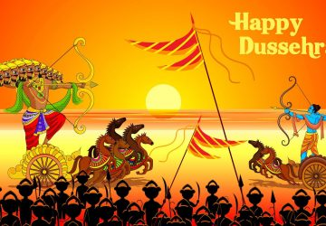 Dussehra Drawing Picture