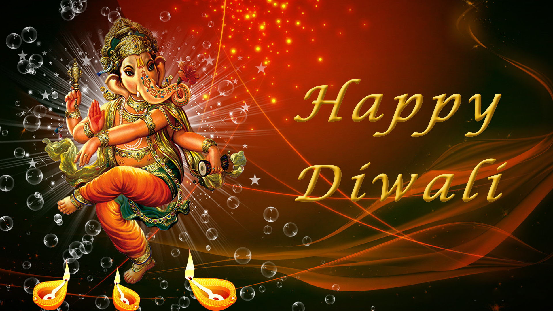 Ganesh Diwali Hd Image For Desktop