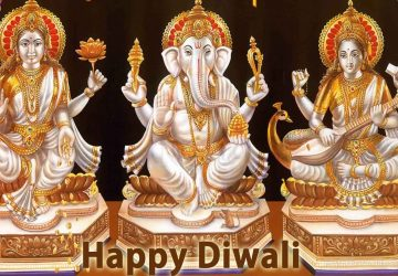 Ganesh Lakshmi Saraswati Hd Wallpaper
