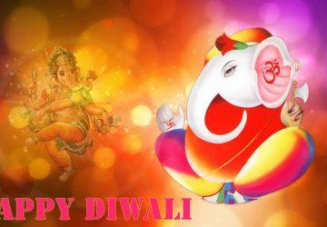 Ganesha Diwali Hd Image For Desktop