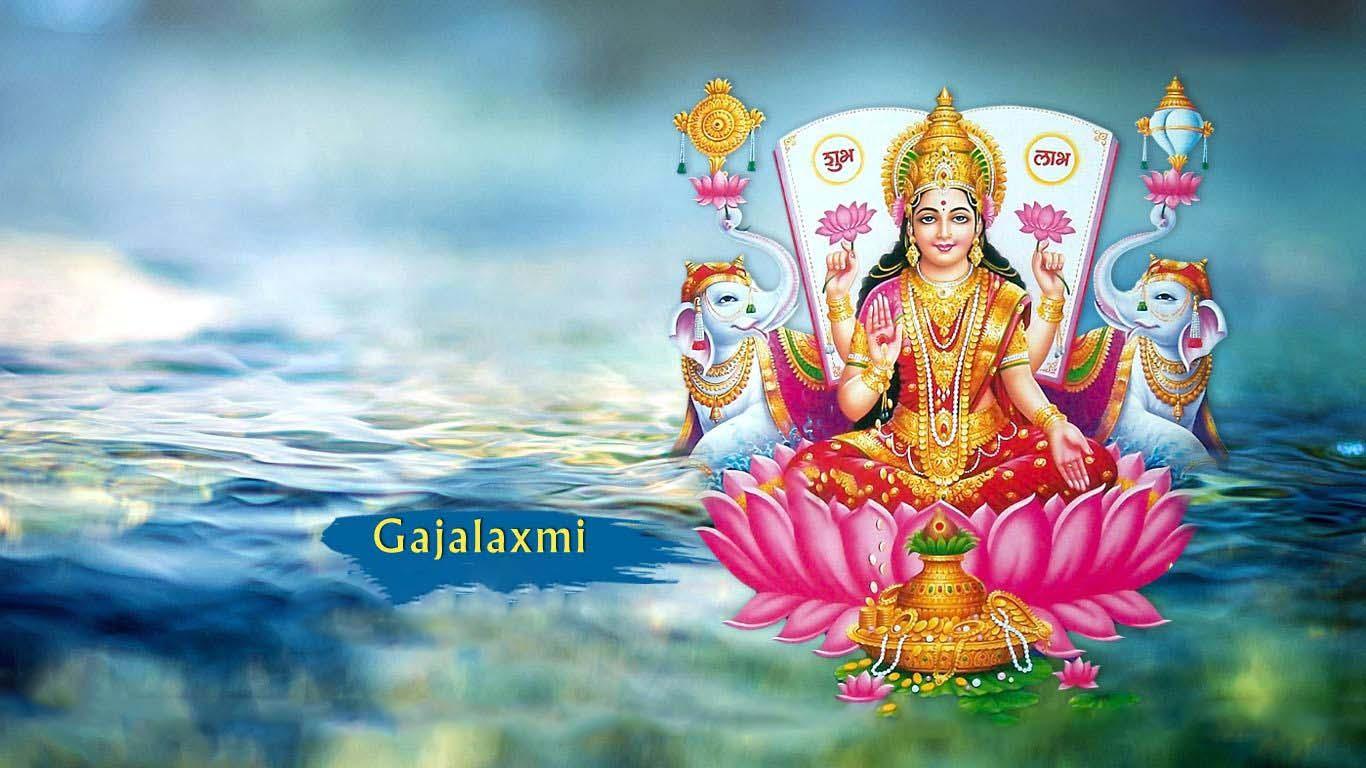 Goddess Gajalakshmi Images