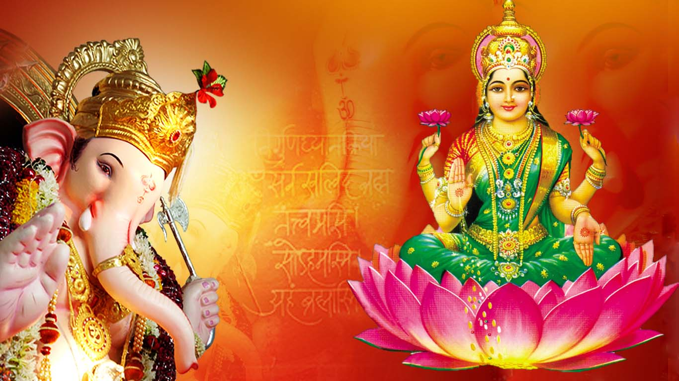 Goddess Lakshmi Ganesh Wallpapers Images For Whatsapp Dp