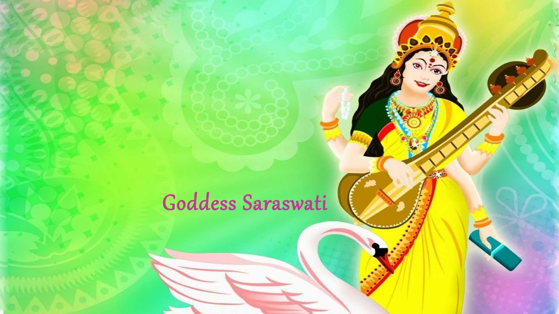 Goddess Saraswati Pic In Hd