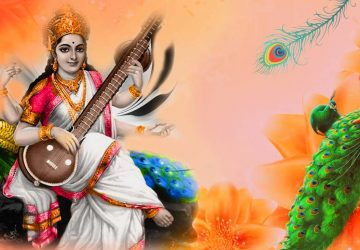 Goddess Saraswati Wallpaper