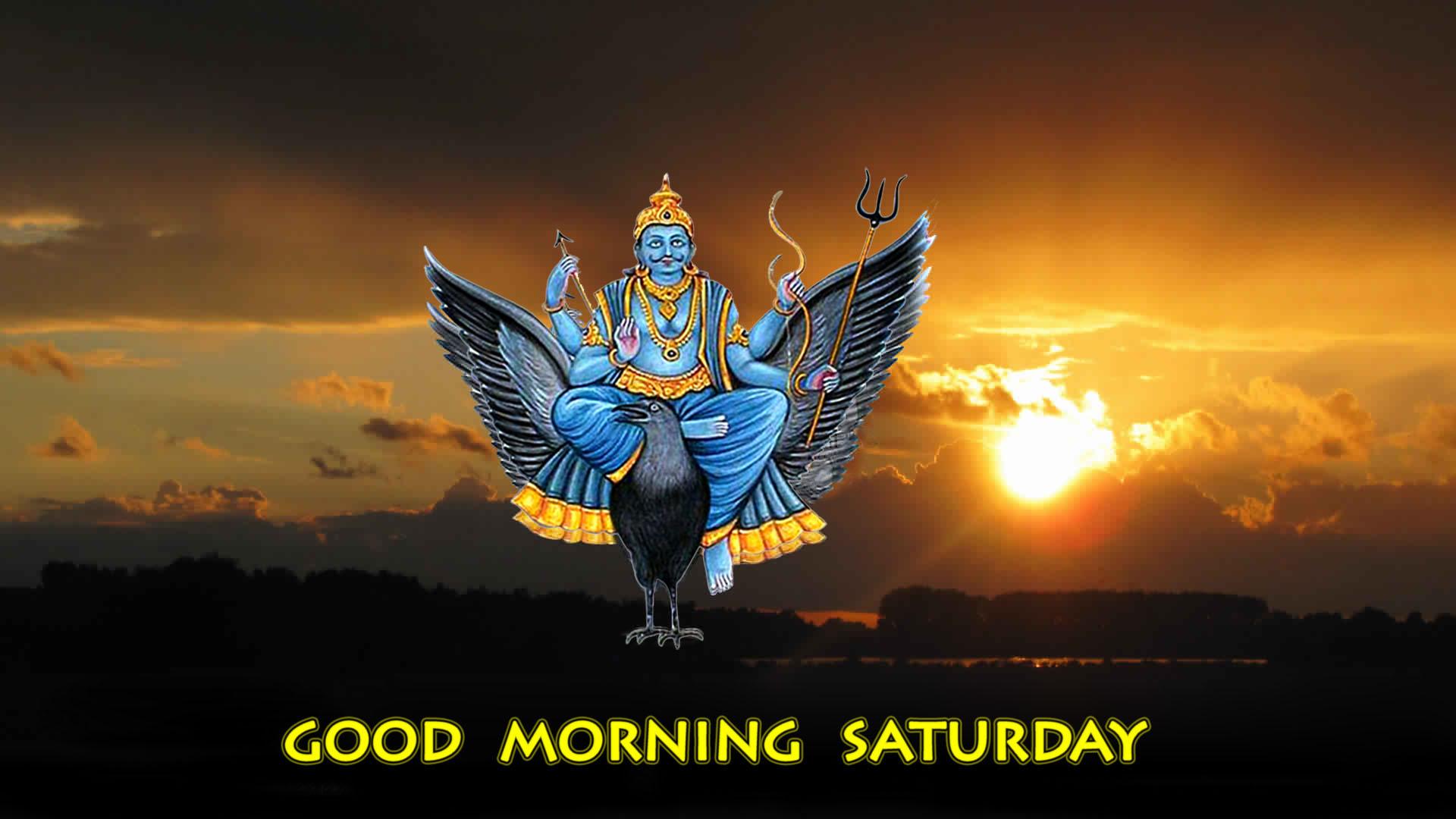 Good Morning Saturday Shani Dev
