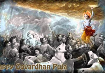 Govardhan Puja Image Wallpaper
