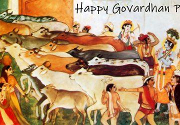 Govardhan Puja Ki Photos