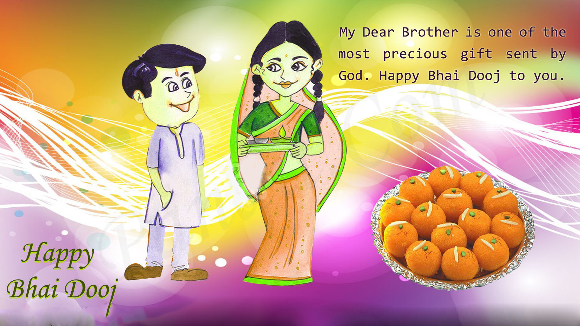 Happy Bhai Dooj Hd Mages