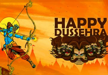 Happy Dussehra 3d Image