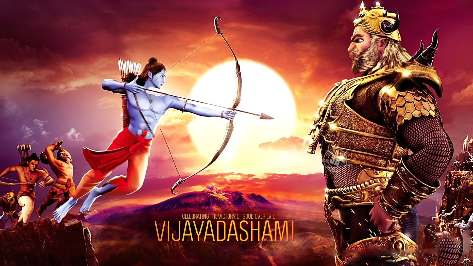 Happy Dussehra Hd Images For Facebook