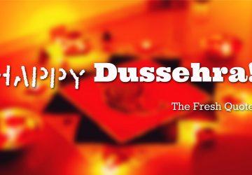Happy Dussehra Quotes Images