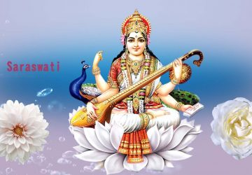 Jai Maa Saraswati Wallpaper
