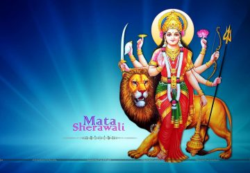Jai Mata Di Goddess Durga Desktop Wallpaper
