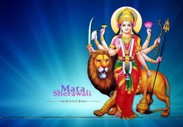 Jai Mata Di Goddess Durga Desktop Wallpaper