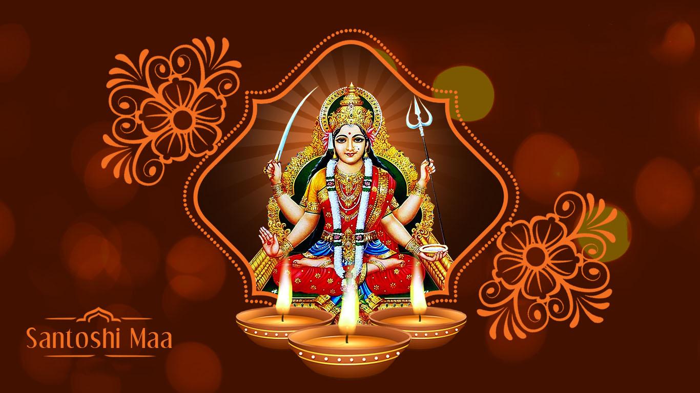 Jai Santoshi Maa Hd Photo Download