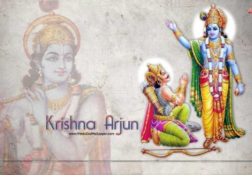 Krishna Arjun Images Hd