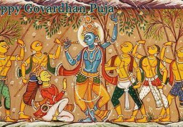 Krishna Govardhan Leela Hd Images