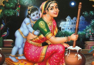 Krishna With Yashoda Maiyya Images