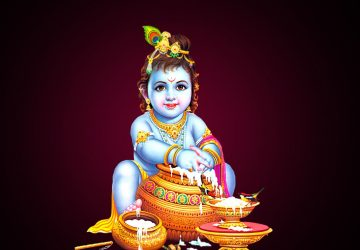 Laddu Gopal Hd Wallpaper Download