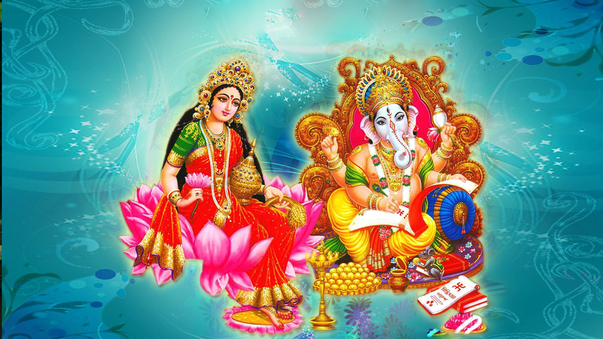 Laxmi Ganesh 3d Images Wallpapers Photos