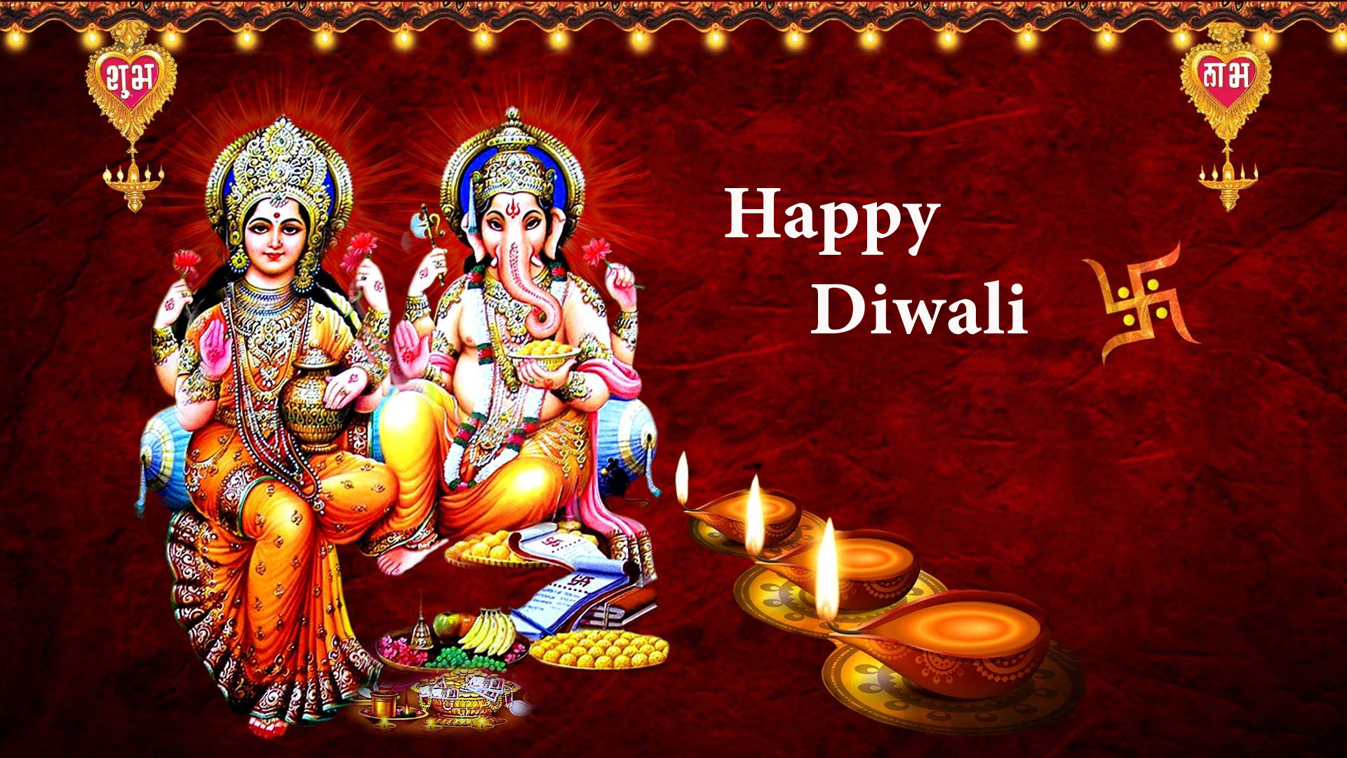 Diwali Laxmi Ganesh Wallpaper Hd