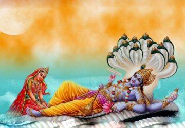 Laxmi Mata Vishnu Bhagwan Ka Photo